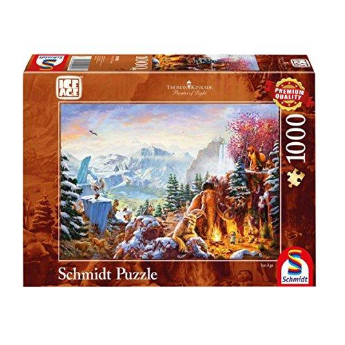 Schmidt Spiele Oui Thomas Kinkade, Ice Age, 1000 pcs, 59481