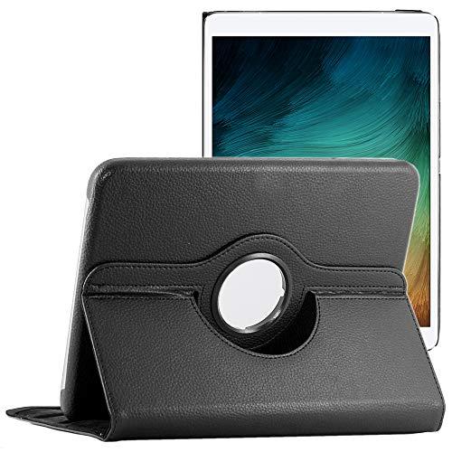 ebestStar - Compatibile Cover Samsung Galaxy Tab 4 10.1 SM-T530, T533 T531 T535 Custodia Protezione Pelle PU con Supporto Rotazione 360 + Penna, Nero [Apparecchio: 243.4 x 176.4 x 8mm, 10.1'']