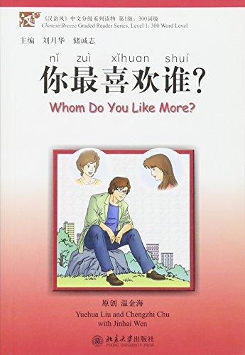 Whom do you like more? (1CD audio MP3)