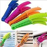 In microfibra Triple veneziano Window Blind Cleaner Brush Duster cucina casa ufficio
