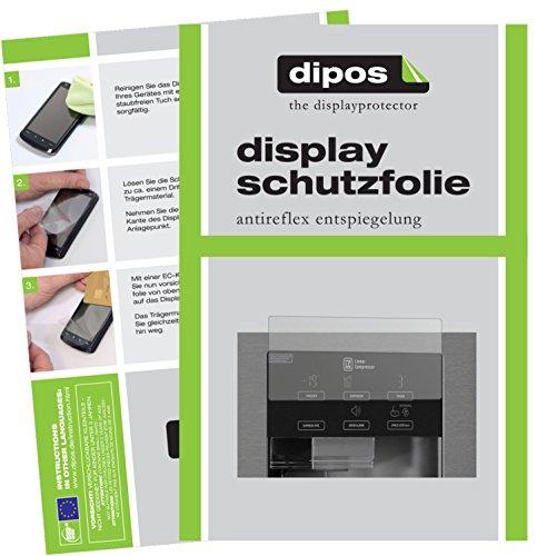 dipos I 2X Schutzfolie matt passend für LG GSL 361 ICEZ Folie Displayschutzfolie