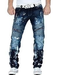 Kosmo Lupo - Jeans - Relaxed - Homme bleu bleu