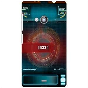 Nokia Lumia 535 Back Cover - Locked Designer Cases