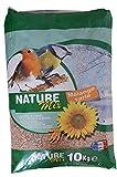 AIME Nourriture pour Oiseaux, Nature Mix 10 Kg pour Oiseaux du Ciel et Animaux Sauvages, Mélange Varié