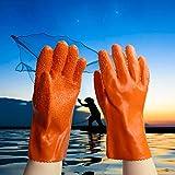 Gummi-Latex-Handschuhe Protective Overall Rubber Particles Slip Verschleißfeste Öl-Säure-Handschuhe Gummi-Schutzhandschuhe Wasserdichte Schutzhandschuhe,L