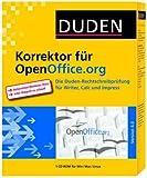 Duden Korrektor Rechtschreibpr�fung f�r OpenOffice.org - Version 4.0 Bild