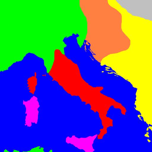 GeaCron Mappe di storia