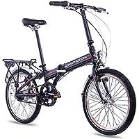 20 pulgadas bicicleta plegable para bicicleta plegable aluminio bicicleta CHRISSON foldrider 3.0 con 7 velocidades ·