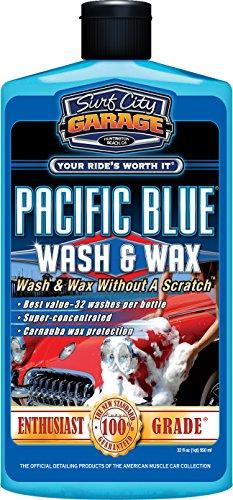 surf-city-garage-bleu-pacifique-et-wash-wax-cire-907-lavage-et-sans-rayures-shampoing-auto