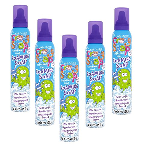 Kids Stuff Crazy Soap Foaming Soaps 225ml (Pack of 6) (6 X BLUE)