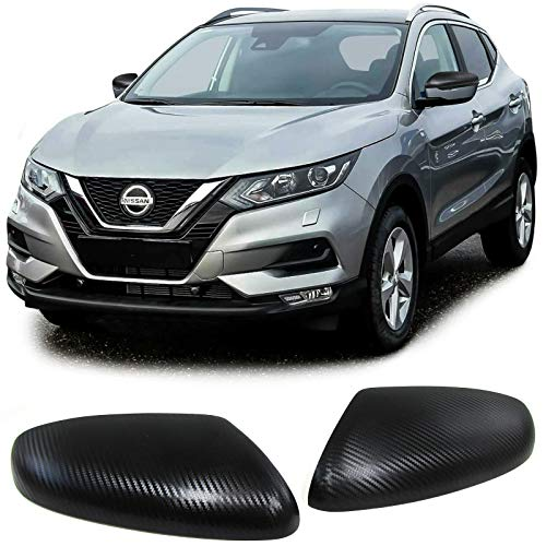 Carparts-Online 29823 Aussen Spiegelkappen Abdeckungen Carbon (Spiegelkappen Nissan)