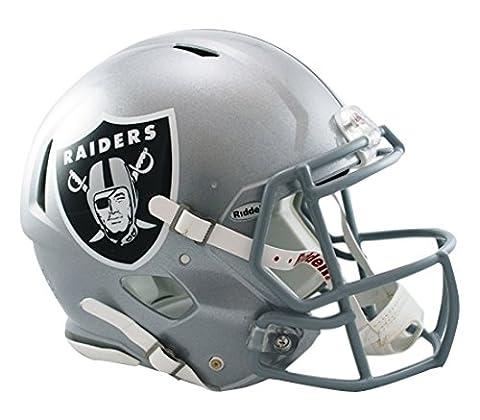 NFL Oakland Raiders Speed Authentic Football Helmet