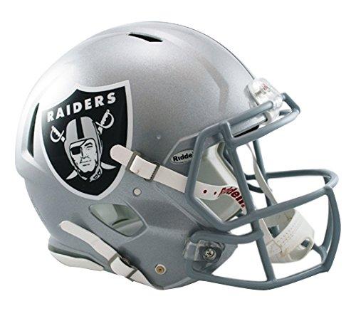 eed Footballhelm für Männer Einheitsgröße Oakland Raiders ()