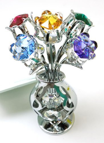 crystocraft-freestanding-swarovski-crystal-tulips-in-crystal-vase
