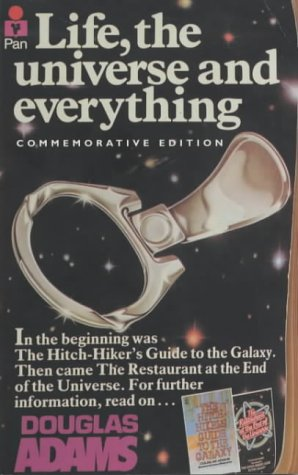 Cover of Life, the Universe and Everything (Hitch-Hikers Guide to the Galaxy 3)