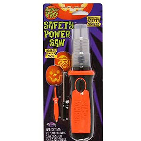 pumpking Pro Set Safety Power Saw Scie Carving Tool citrouille avec Safety Shield