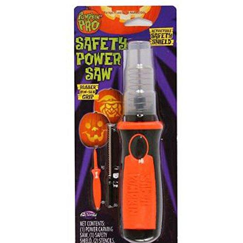 Pumpking Pro Safety Power Saw Carving Tool Kürbis Säge Set mit Safety Shield (Pumpkin Masters)