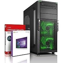 Ultra 4-Core DirectX 12 PC Gamer - Unité centrale Gaming Intel i7 920 4x2.93 GHz Turbo - GeForce GTX 1050 DDR5- Mémoire RAM 8Go DDR3 - Stockage 2000Go HDD - Win 10 Pro - Lecteur/Graveur DVD±RW #5683