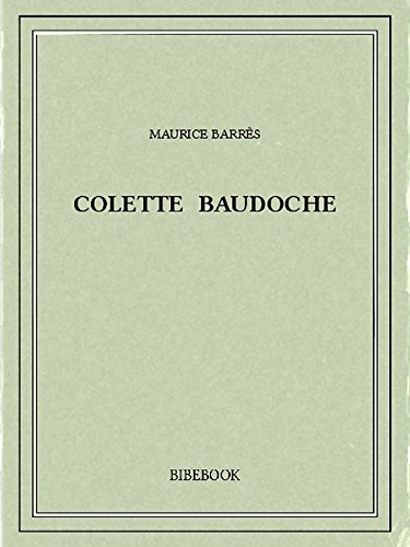 Colette Baudoche (French Edition)