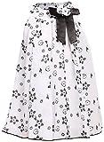 Yoshana Girls' Polyester Gathered Dress ...