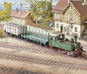 """aue-verlag 66x 7x 8cm, kit de modelo """"Wuerttemberg, T3, motor de vapor"""