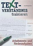 Arbeitstexte und Förderaufgaben (Textverständnis trainieren)