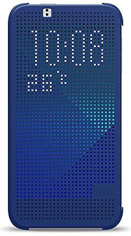 HTC HC M130 Dot Etui flip pour HTC Desire 510 Bleu
