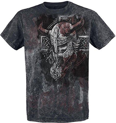 Black Premium by EMP Broken Viking T-Shirt nero M