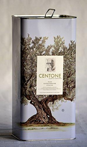 Olio Extravergine di Oliva alta qualità, cultivar Frantoio e Leccino - Latta da l. 5 raccolta nov. 2018