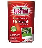 Substral–Abono para césped con para herbicida 450qm 9kg, volldünger, largo tiempo abono
