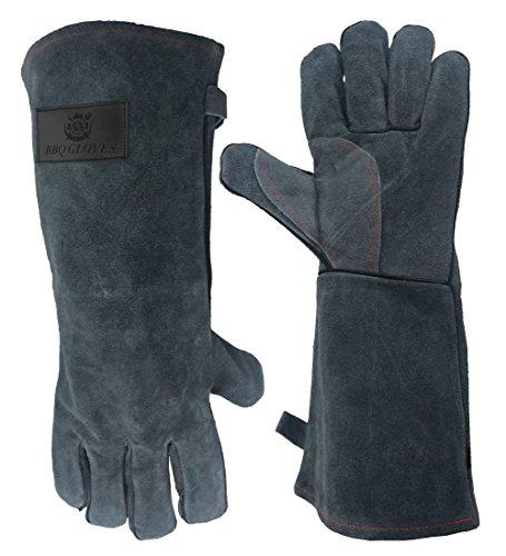 OZERO 662°F(350℃) Ultra Extreme Hitze Grill Handschuhe für Raucher, Backofen Kamin Kaminofen Pot-Halter Gartenarbeit & Outdoor Grill...