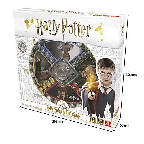 515SEEjG4tL - Pressman- Harry Potter Los Tres Magos Juego de Mesa, Multicolor (Goliath Games 108672)