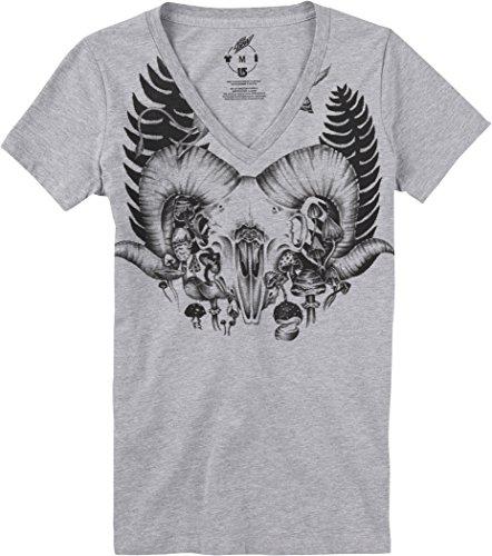 Burton Damen T-Shirt WB Ferny VNCK RPET Gray Heather