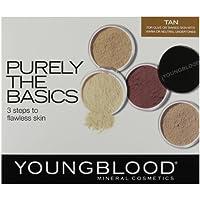 Youngblood, Purely Basics, Set di trucchi minerali, incl. 2 fondotinta,