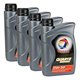 4x MOTORÖL TOTAL QUARTZ INEO FIRST 0W-30 1L