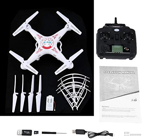 ACROPOLES 3MP Camera Quadcopter Aircraft Headless Mode Remote Control Helicopter Mini Drone Quadcopter   | Qualité Fiable