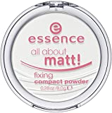 essence All About Matt! Fixing Kompaktpuder TRANSP ARENT 8 g