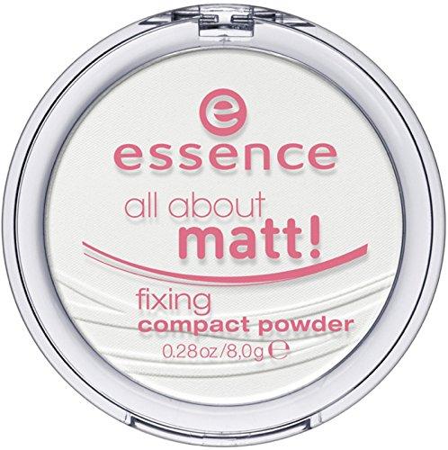 essence All About Matt! Fixing Kompaktpuder TRANSP ARENT 8 g