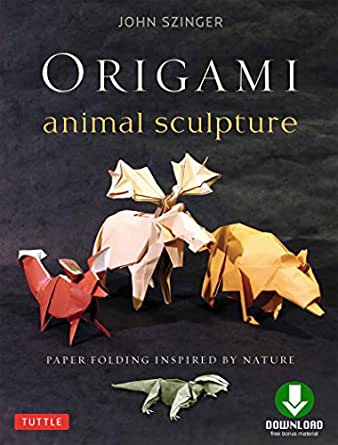 44 New Curved Origami Sculptures Using A Wet-Folding Technique By ... | 445x338
