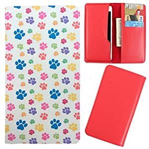 DooDa - For Lava iris 355 PU Leather Designer Fashionable Fancy Case Cover Pouch With Card & Cash Slots & Smooth Inner Velvet