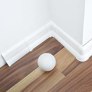 Fußbodenleiste Weiß sockelleisten weiss kunststoff heimwerker markt de