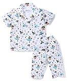 #2: Romano Kid's Trendy Printed 100% Cotton Night Suit Half Sleeves