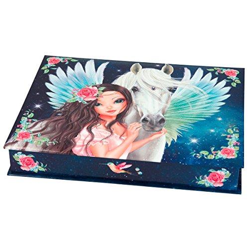TOPModel 3949.001 Fantasy Model Schreibwarenbox, Motiv 2 Box mit Inhalt: 3 Bleistifte, 1...
