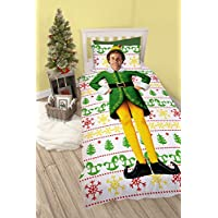 Elf Single Duvet Set, Polyester-Cotton, Multicolour