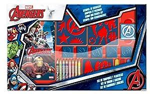 Frajodis-0007159-Maletín de Sellos y Plantillas bajo Licencia Avengers