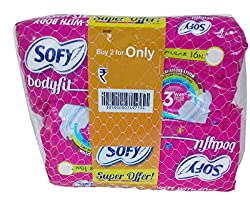 Sofy Sanitary Pads - Regular Body Fit, 2x16 Pieces Combo Pack