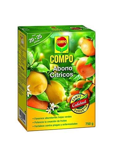 Compo 2655002011 Abono Cítricos 750 G, 20x14.2x4.7 cm