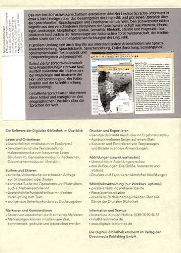 Metzler Lexikon Sprache (PC+MAC)