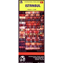 Istanbul City Map (Travel Reference Map)