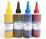 4 X Botes DE 100ML DE Tinta DE SUBLIMACION. Compatible con IMPRESORAS EPSON DE 4 Colores BRAMACARTUCHOS